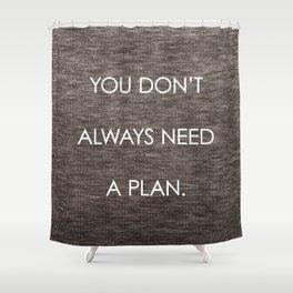 Plan Shower Curtain