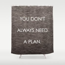 Plan Shower Curtain