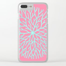 Plant collage XVIII Clear iPhone Case