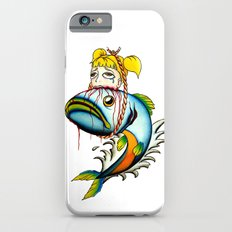 Fish with Girl Hat iPhone 6s Slim Case