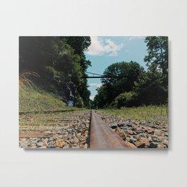 Rail Metal Print