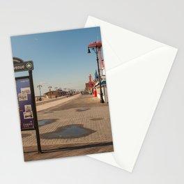 Coney Island Promenade Stationery Cards