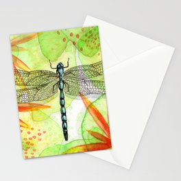 Dragonfly Lilly Art (Watercolor & Ink) Stationery Cards