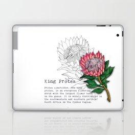 King Protea Laptop & iPad Skin