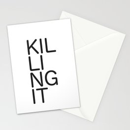 Killing It 1 Stationery Cards