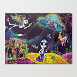Area 54 Canvas Print