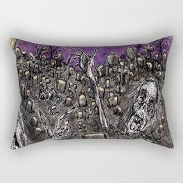 Zombies....Braaaiiinnnnsss!!! Rectangular Pillow