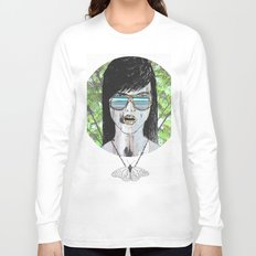 Tropical Zombie  Long Sleeve T-shirt