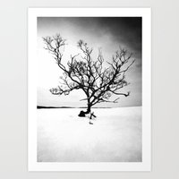 tree of life Art Prints featuring TREE LIFE by Maioriz Home