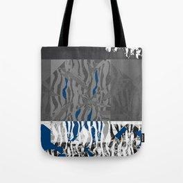 blue stuff around Tote Bag