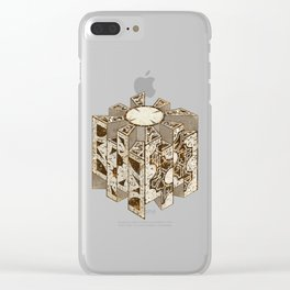 Hellraiser Puzzlebox C Clear iPhone Case
