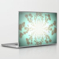 tiffany Laptop & iPad Skins featuring Ethereal Tiffany by 2sweet4words Designs