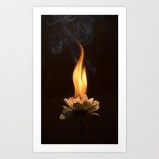 Soul burn Art Print