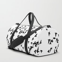 Silhouettes - Flock of Birds Duffle Bag