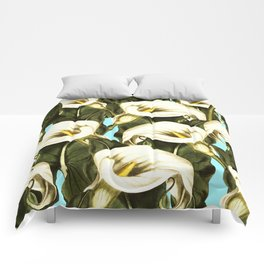 Pattern floral Ethiopian-Calla Comforters