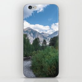 River & Mountains iPhone Skin