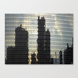 Reflections of Chicago  Canvas Print