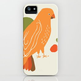 Quirky Australian King Parrot iPhone Case