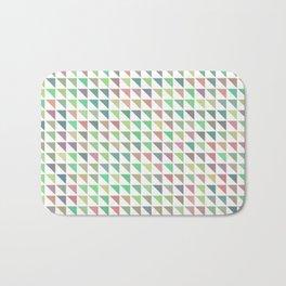 edge of autumn geometric pattern Bath Mat