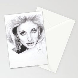 living doll...  sharon tate. Stationery Cards
