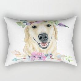 Golden Love Rectangular Pillow