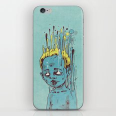 The Blue Boy with Golden Hair iPhone & iPod Skin