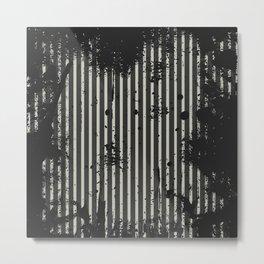 Stripe Metal Print
