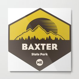 Baxter State Park, Maine Metal Print
