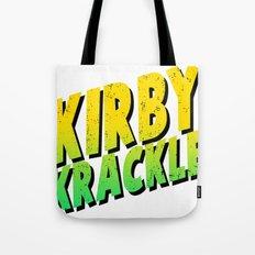 Kirby Krackle - Yellow/Green Logo Tote Bag