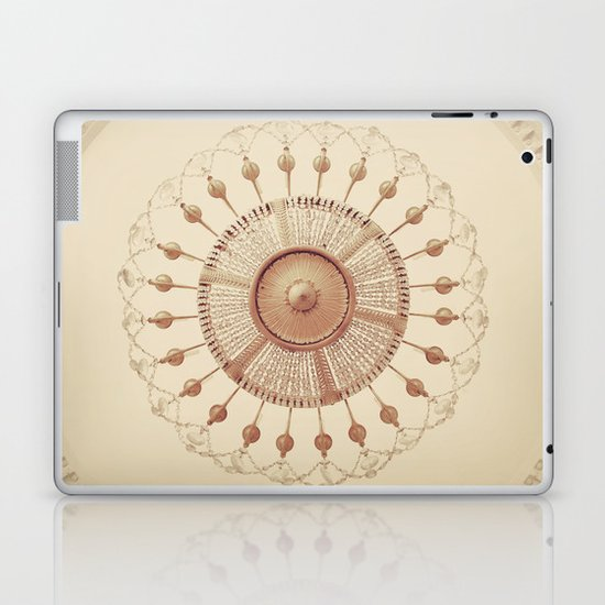 French Chandelier Laptop & iPad Skin