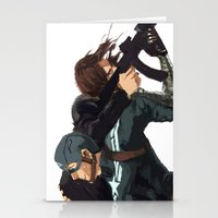 stucky Stationery Cards featuring Dammit Steve by MMCoconut