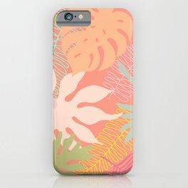 Melon Palms iPhone Case