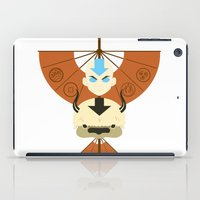 aang iPad Cases featuring Yip Yip by Ashley Hay