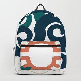 sun in a beach Backpack