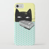 kitty iPhone & iPod Cases featuring Kitty  by Mary Kilbreath