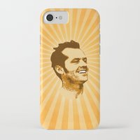 jack nicholson iPhone & iPod Cases featuring Nicholson by Durro