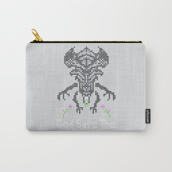 Xenobroidery Carry-All Pouch