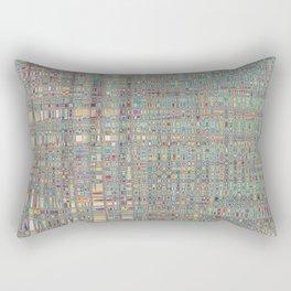 345 - Abstract Colour Design Rectangular Pillow