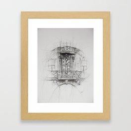 uu Framed Art Print