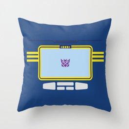 Soundwave Transformers Minimalist Throw Pillow