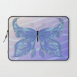 Butterfly Blue Laptop Sleeve