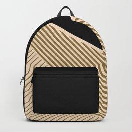 Geometric in line Backpack