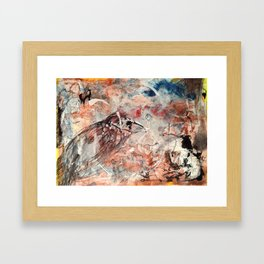 Just Furling Framed Art Print