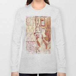 Ancient Egypt smartphones Long Sleeve T-shirt