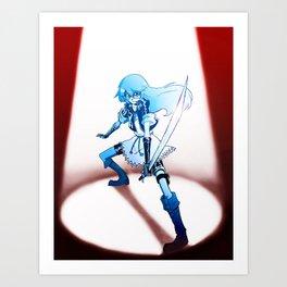 Zetsubou no ken Art Print