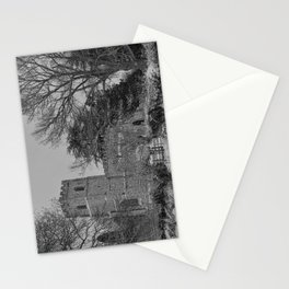 St Botolph's Church, Rugby Black and White Stationery Cards