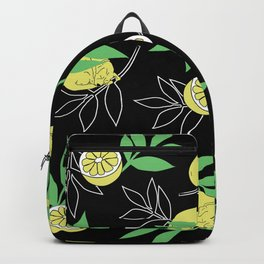 My dog called Lemon Backpack
