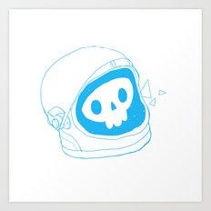 space doodle Art Print