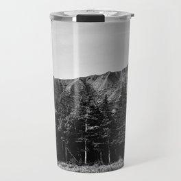 Black and White Katahdin Travel Mug