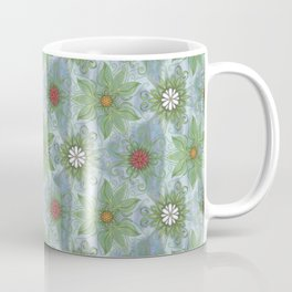 English Garden Pattern Coffee Mug
